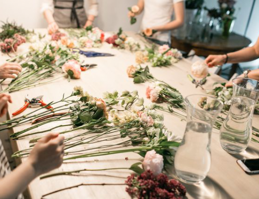 best flower arrangement class