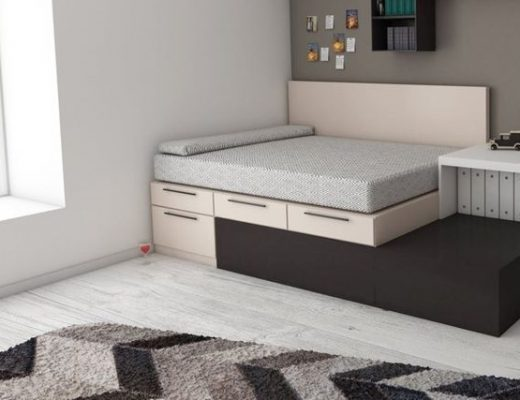 best storage bed frame with mattress Singapore