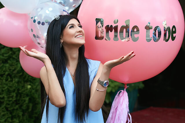 Best Bride To Be Balloons Singapore